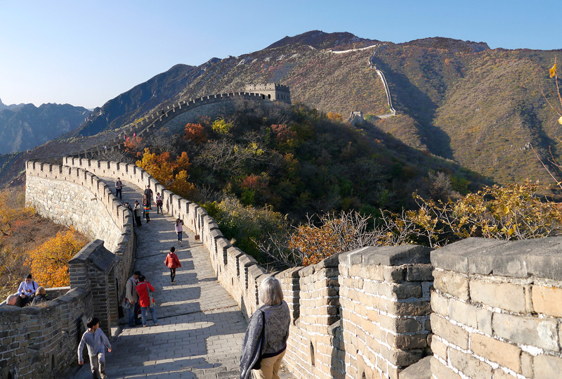 Beijing. The Great Wall.
