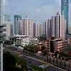 Shanghai Tower Blocks as seen from my hotel room.