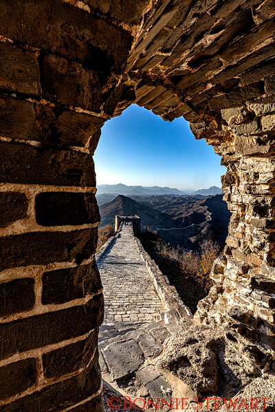 Simatai section of the Great Wall of China