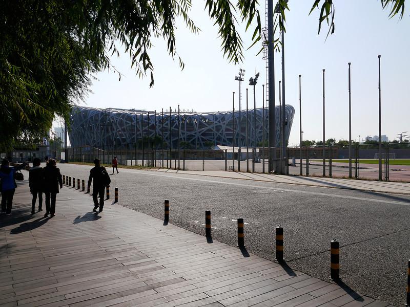 "Beijing. The ""Bird's Nest"" from the Olympics."