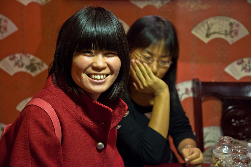 Jessica and her friend were visiting from Beijing and invited me to some traditional tea tasting.