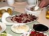 China - Beijing - food - Jinsong Duck House - preparing Peking Duck