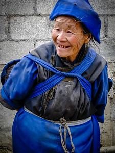 Elderly Woman in Lijiang China  (2011)