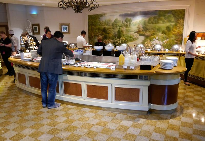 Beijing. Breakfast buffet at our hotel- The Renaissance.