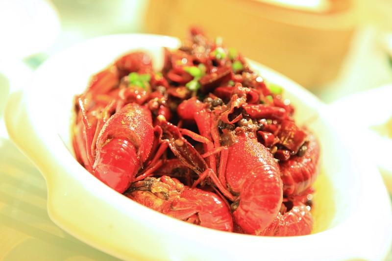Very spicy craw fish - Qingdao