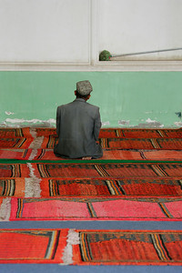 The Morning Prayer in Mosque