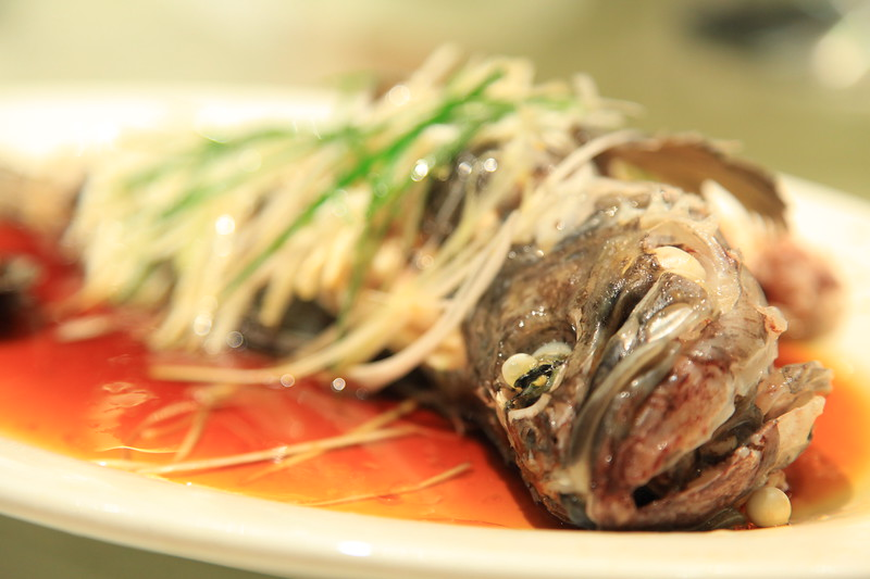 Steam whole fish in soy sauce - Qingdao