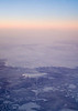 Flight over the artic to China.
