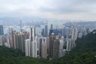 Hong Kong from above