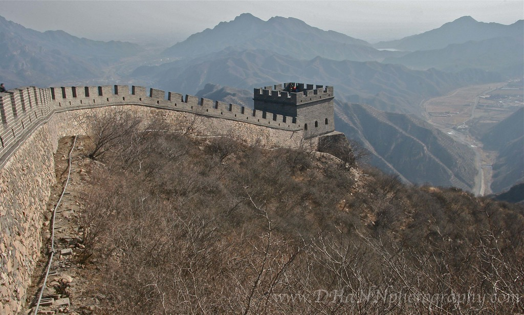 One of many towers along the Great Wall