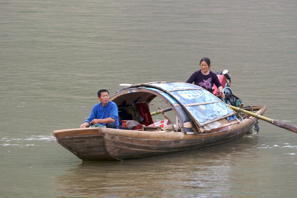 Yangtse River, China<br /> Copyright 2007, Tom Farmer
