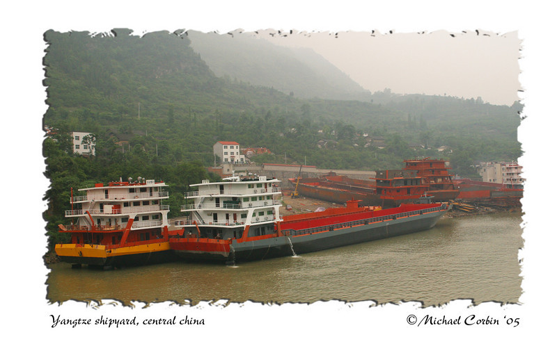 Yangtze Shipyard, central China