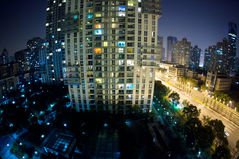 Arrived at Shanghai and the taxi ride in blew my mind.  This is the view from my hotel room.