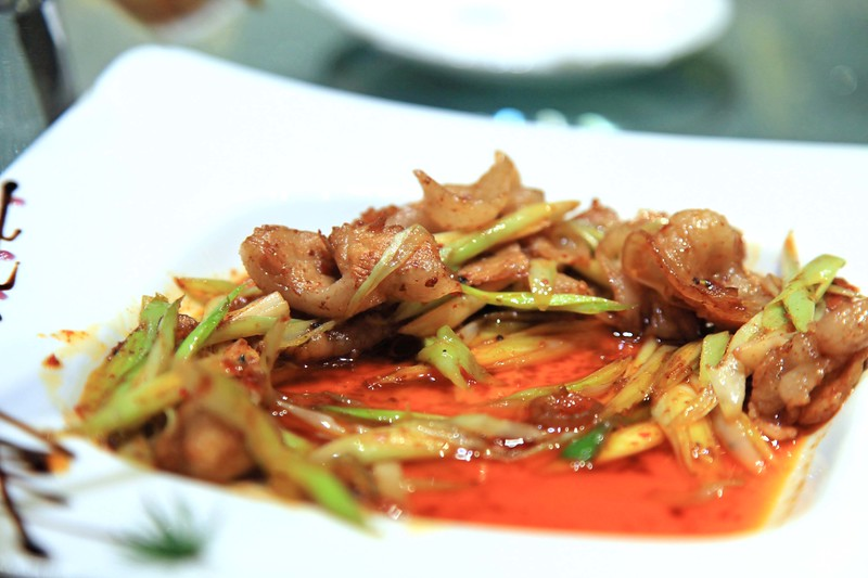Stir fried spicy chicken - Chengdu