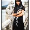 Model in the Summer Palace Bridge