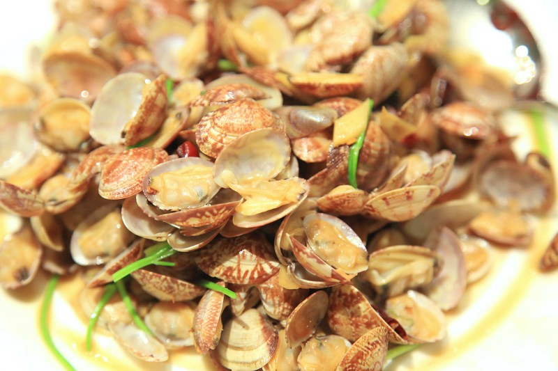 Stir fried spicy clams - Qingdao