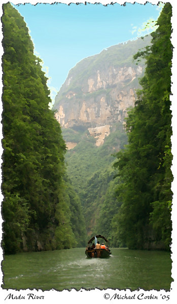 Madu River gorge