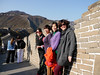 Beijing. The Great Wall. Some ladies I met along the way.