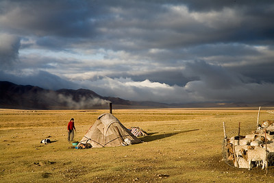 The Nomadic Life of Kazak People, Xinjiang