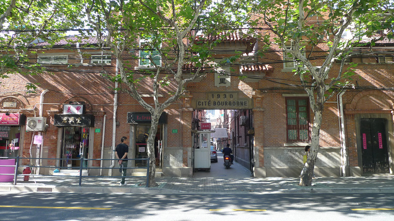 Architecture in the French Concession, Shanghai.
