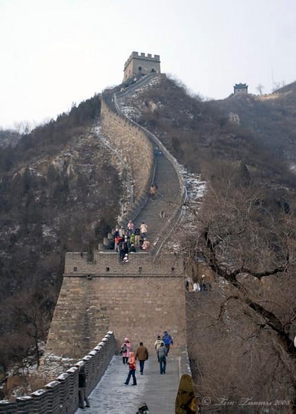 Great wall of China at Juyongguan Pass