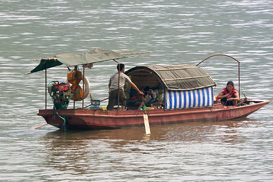 Yangtse River, China Copyright 2007, Tom Farmer