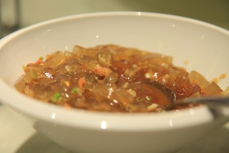 Seaweed stir fried in lots of garlic - Qingdao
