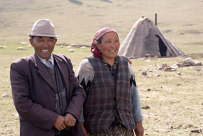 The Homestead of A Kaskha Couple