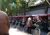 Beijing. Back at the rickshaw parking lot.