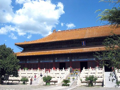 Outer building of the Third Ming Tomb.