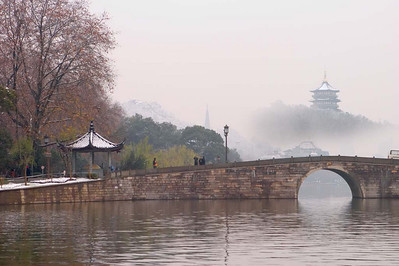 As Seen Along the West Lake