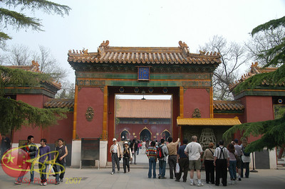 Entrance to the Lama Temple, Beijing
