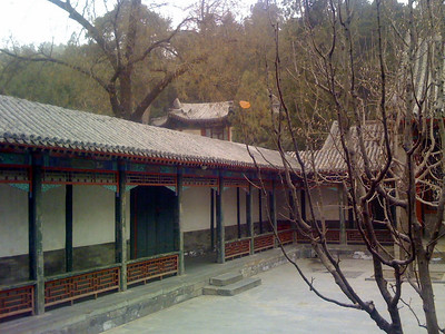 Toward the Temple of Longevity from the Empress' Court.