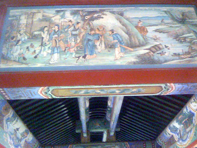 One of the scenes painted on the beams of the 783-meter-long promenade, Summer Palace, Beijing