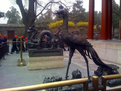 Dragon and crane at the Summer Palace, Beijing
