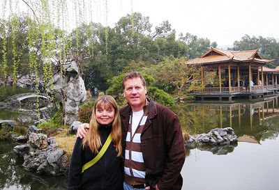 Laurie and Greg in Hangzhou