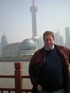 Kevin with TV tower