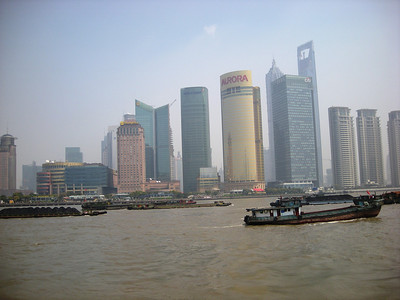New Shanghai sky line