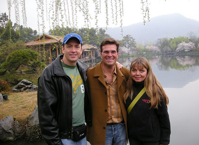 Steven, Tony, and Laurie in hangzhou