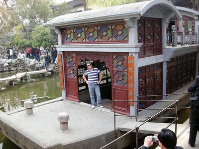 Stone barge