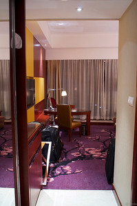 Finally at the hotel in Beijing, 12AM :-(
