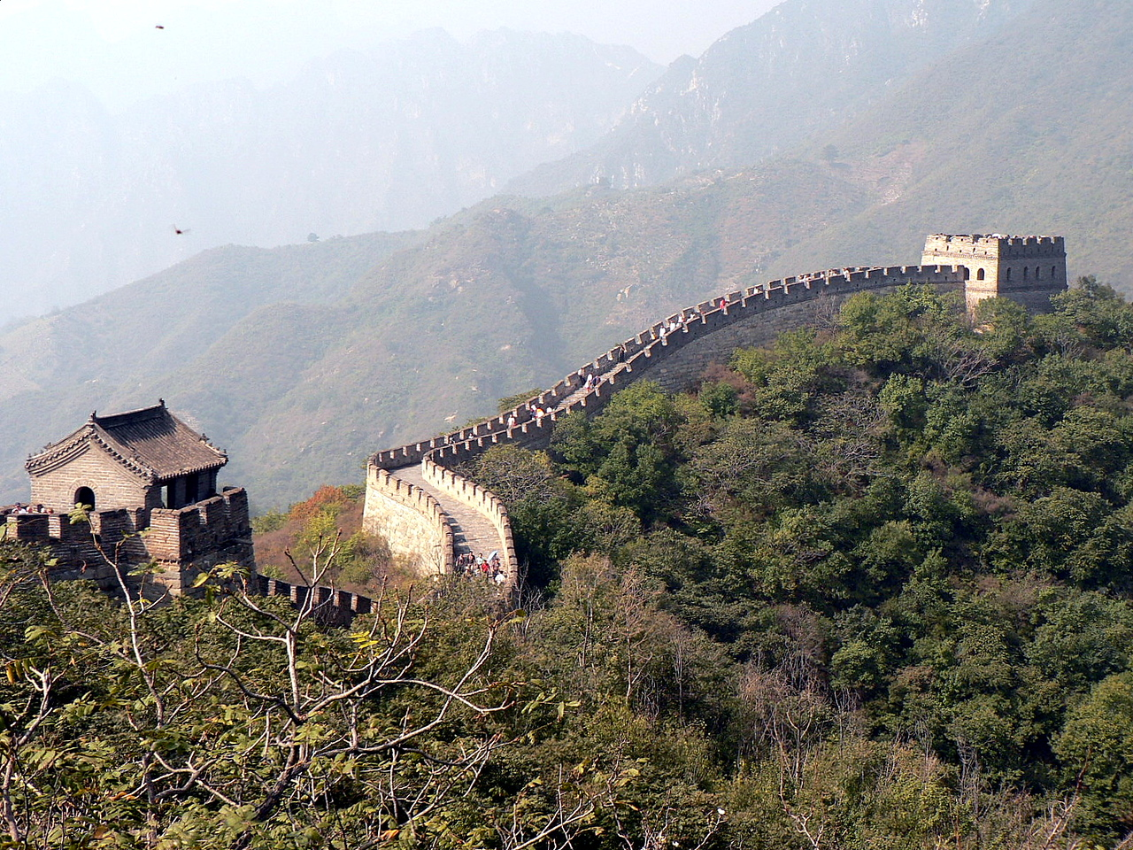 Many are familiar with the claim that the Great Wall of China is the only man-made object visible from space or from the moon with the naked eye. This is simply not true.