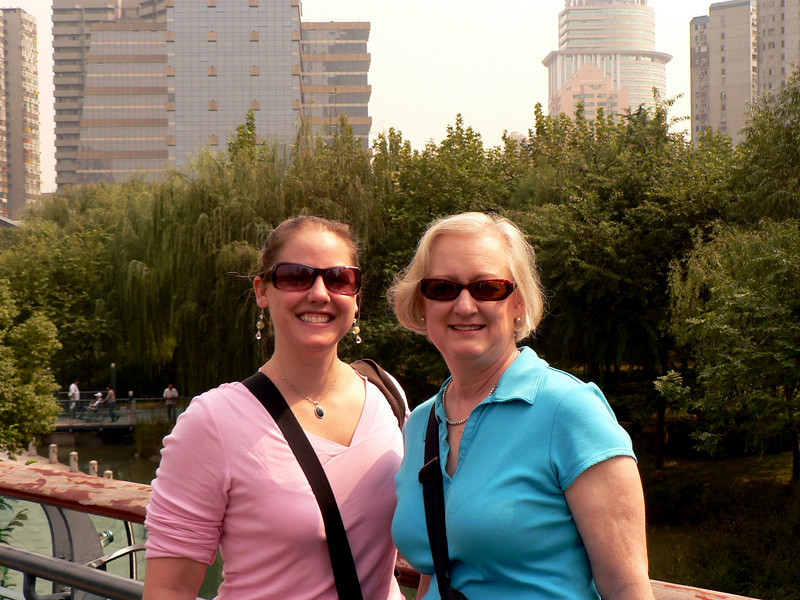 Two chicks in Shanghai