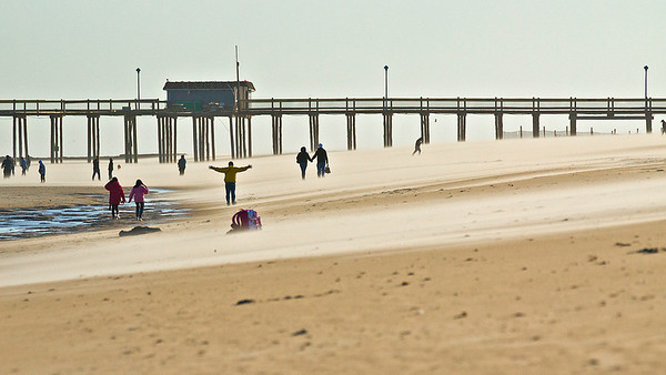 Windy sands