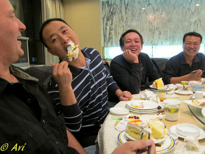 Gotta love Dale going to China instead of his 50th Bday in Vegas with his wife.