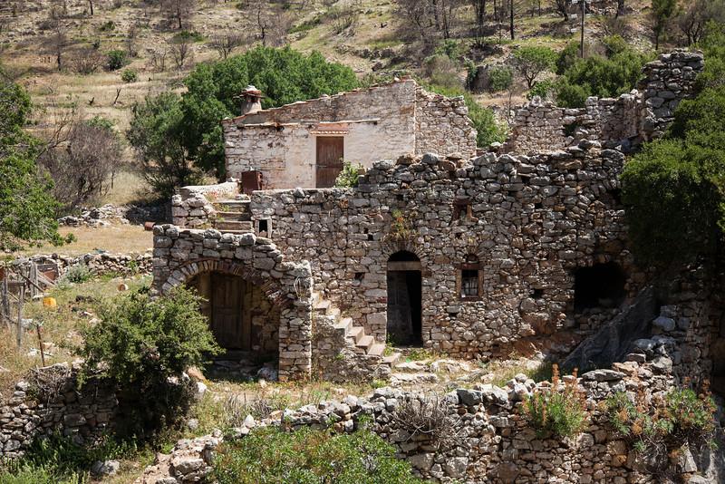 Neglected, Nea Moni Monastery, Chios, Greece