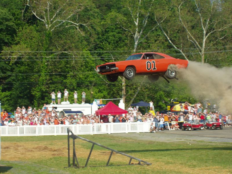 The General Lee at CMT DukesFest 2005 on Saturday, June 4, 2005 at the Bristol Motor Speedway and Dragway.   The Dukes of Hazzard airs 7 amd 11 pm ET/PT weeknights on CMT: Country Music Television. Photographer: Dan Smigrod