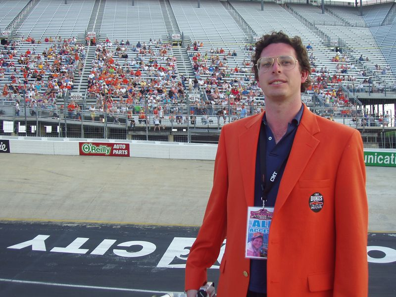 Vice President, CMT Dukes of Hazzard Institute Christopher Nelson at CMT DukesFest 2005 on Saturday, June 4, 2005 at the Bristol Motor Speedway and Dragway. Nelson's first official act as VP was presenting the Special Olympics of Arkansas with a $10,000 check from the CMT Dukes of Hazzard Institute. The Dukes of Hazzard airs 7 amd 11 pm ET/PT weeknights on CMT: Country Music Television. Photographer: Dan Smigrod
