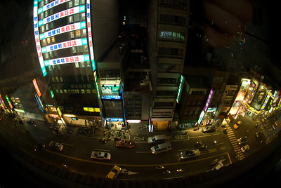 View from the hotel window