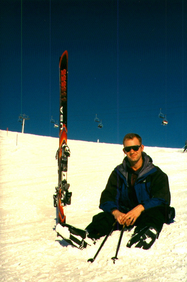 Above Grindelwald, Switzerland, in winter of 97/98